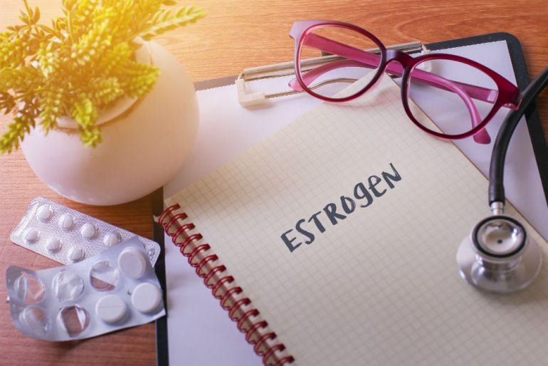 Symptoms of an oestrogen deficiency